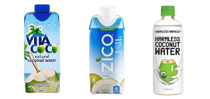 top 3 coconut water