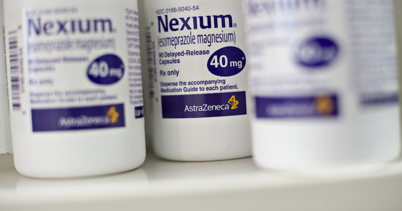 nexium in bottle