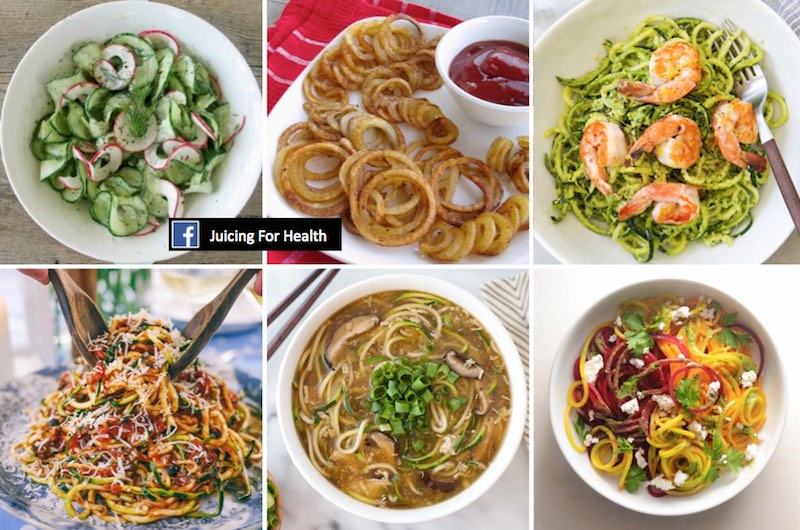 spiralizer dishes