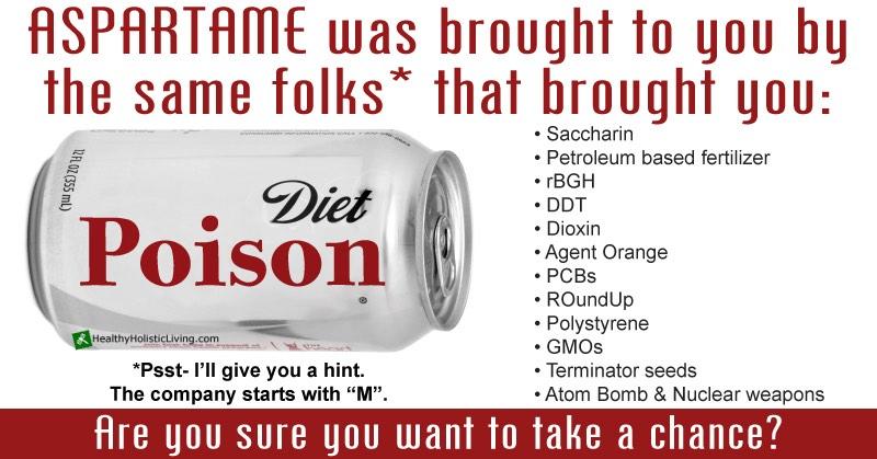 aspartame diet poison