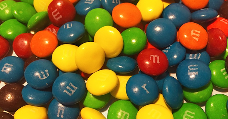 Never eat M&M