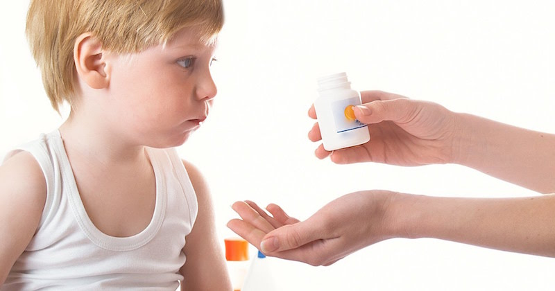 French children not medicated for ADHD
