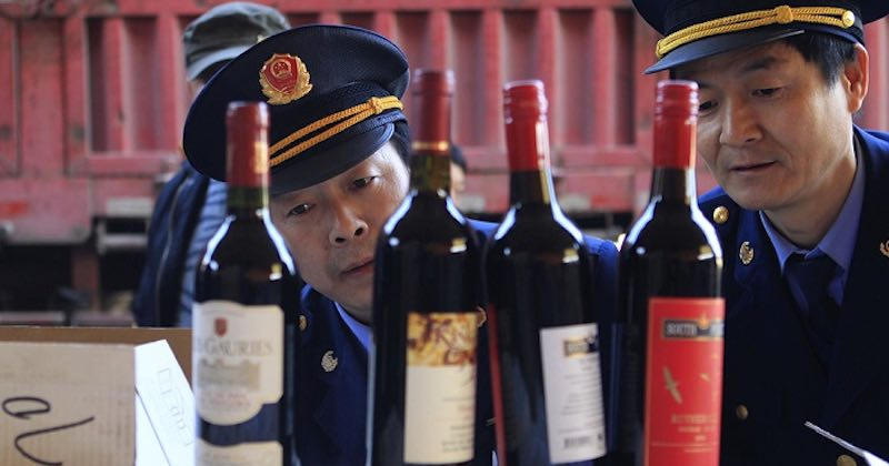 china fake wines