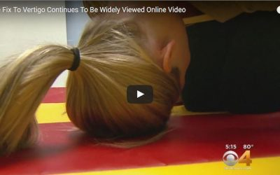 Half Somersault Maneuver Cures Vertigo For Good, In Just A Few Minutes