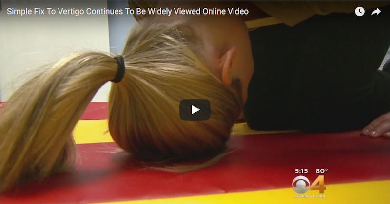 Half somersault maneuver cures vertigo