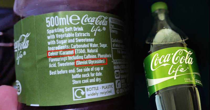 healthy coca-cola life