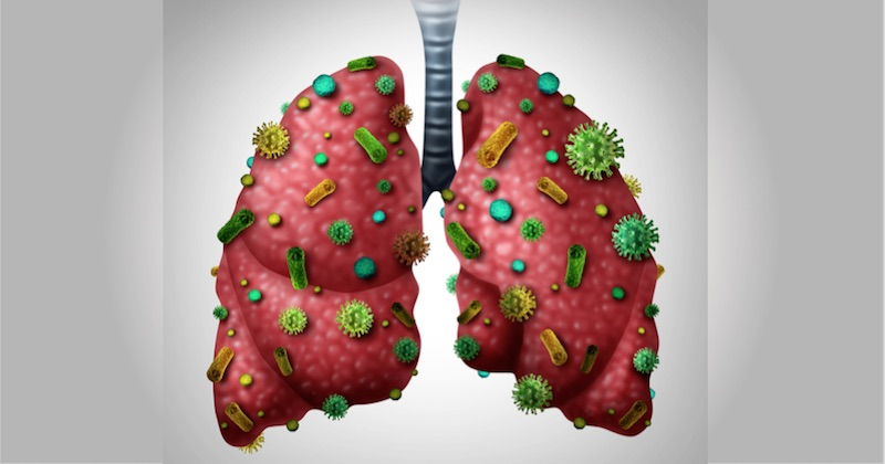 detoxify lungs infection
