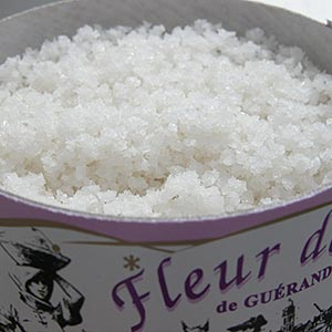 Healthy alternative salts - Guérande sea salt, France