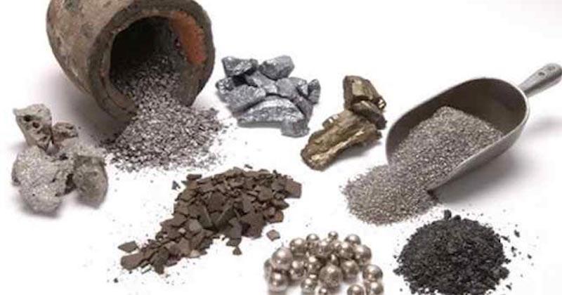 types of heavy metals