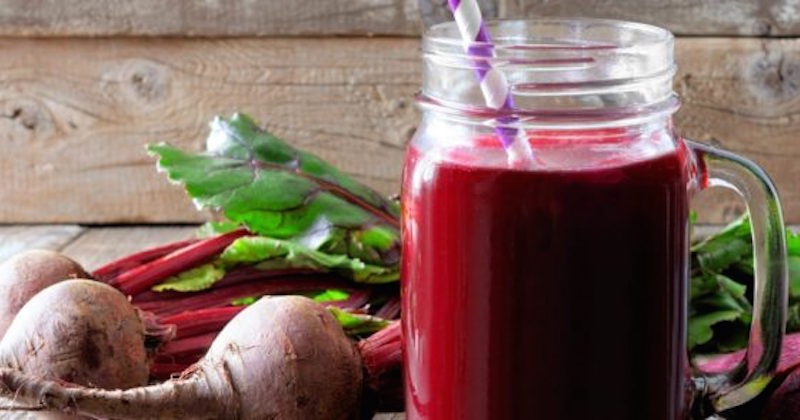 beetroot juice lowers high blood pressure