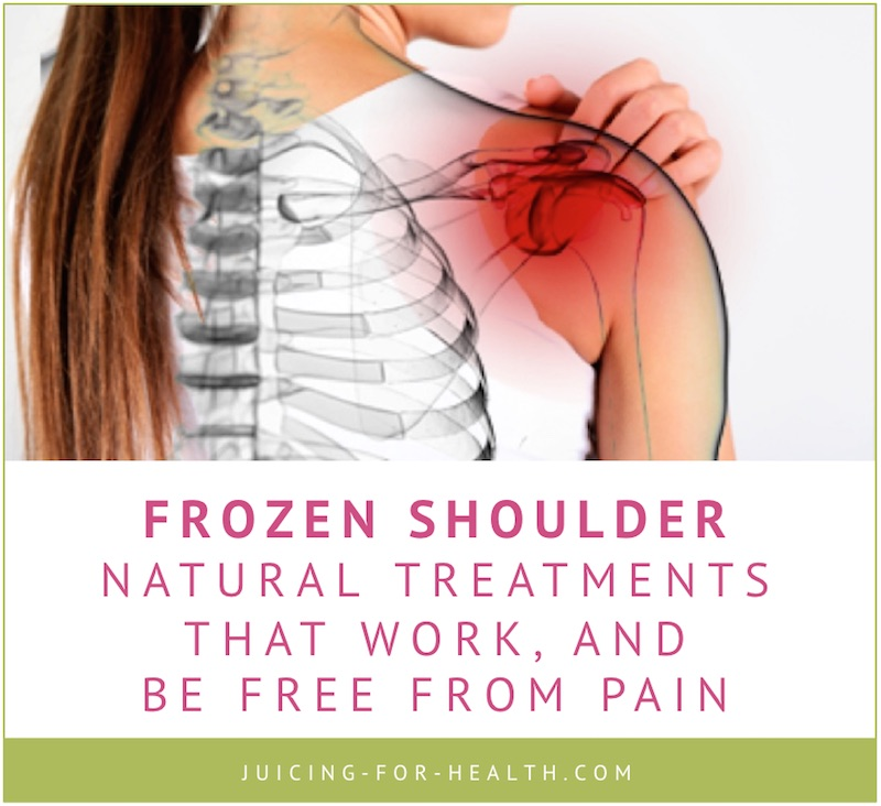 Healing Shoulder Pain Naturally