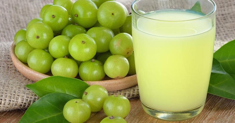 amla (Indian gooseberry) juice