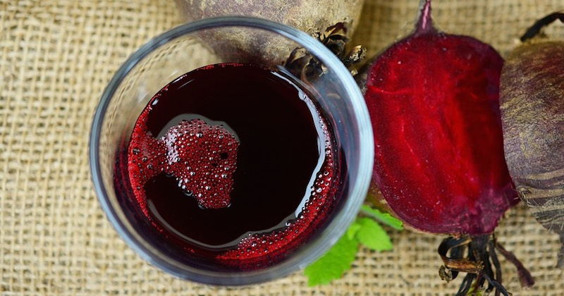 beetroot juice - one of the top brain-booster drinks