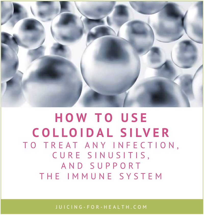 colloidal silver benefits