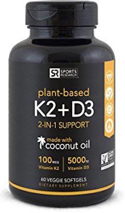 Vitamin K2 + D3 supplement
