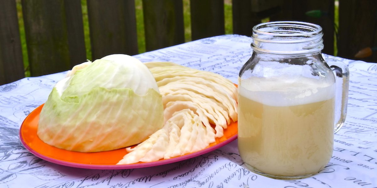 How To Make Cabbage Juice For Healing Stomach Ulcers And Open Sores