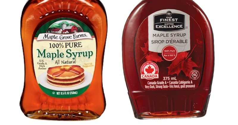walmart maple syrup