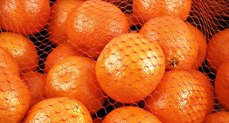 tangerines and clementines