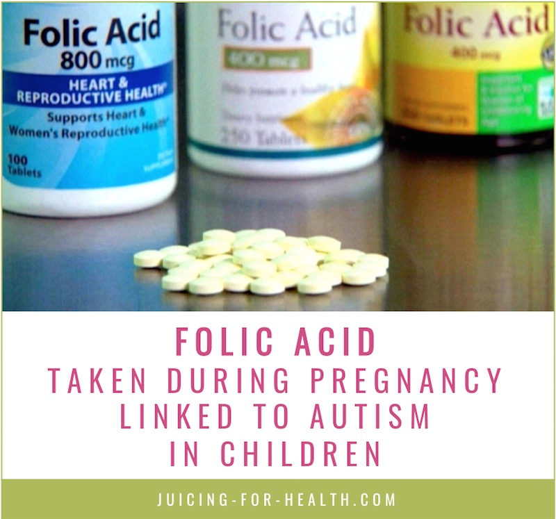 folic acid taken during pregnancy