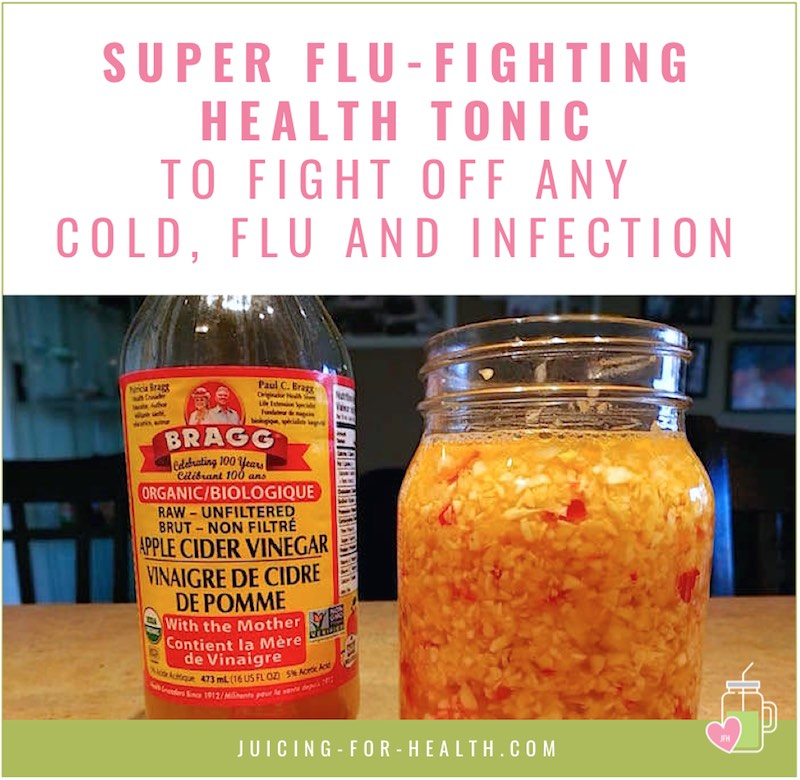 super flu-fighting health tonic