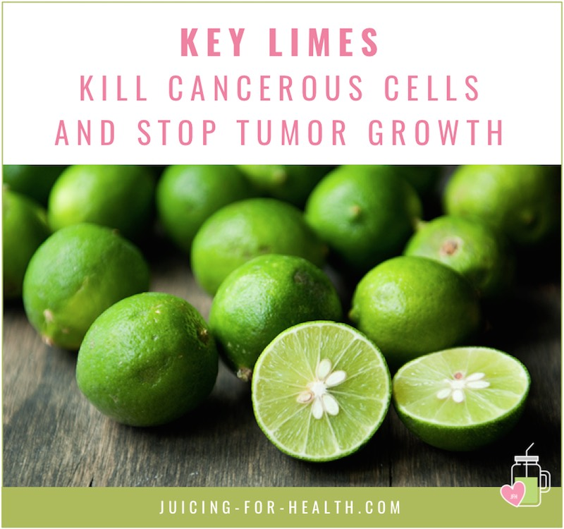key limes kill cancer cells