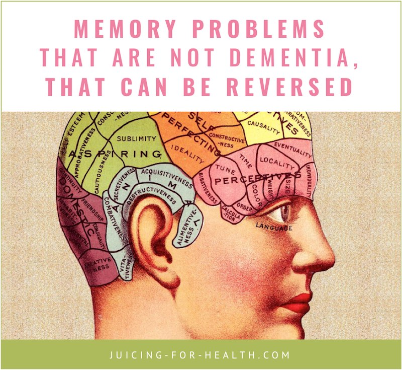 memory problems that are not dementia