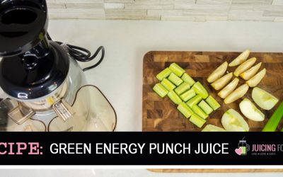 Green Energy Punch [Juice Recipe]