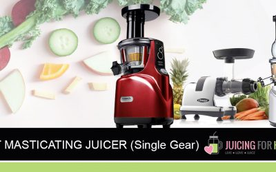 Best Masticating (Single Gear) Juicers