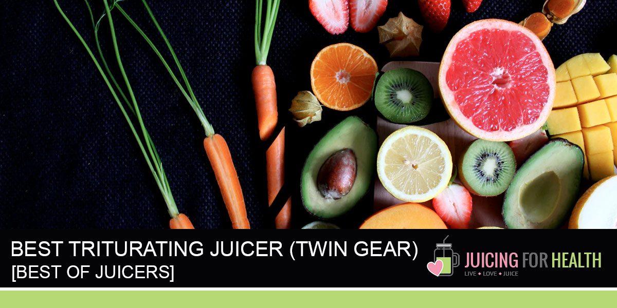 Best Triturating (Twin Gear) Juicers