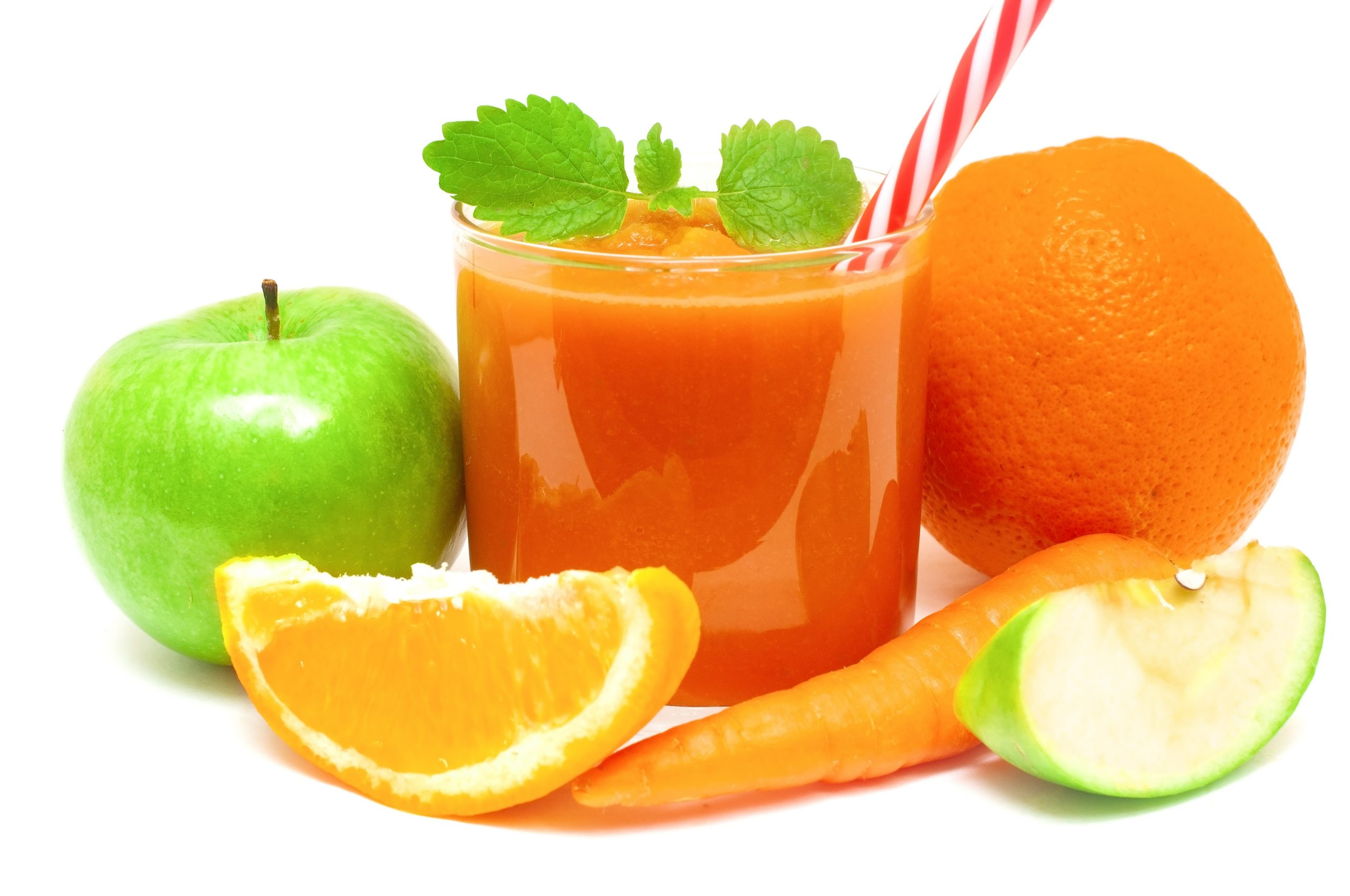 Morning glow apple orange carrot immunity boosting juice