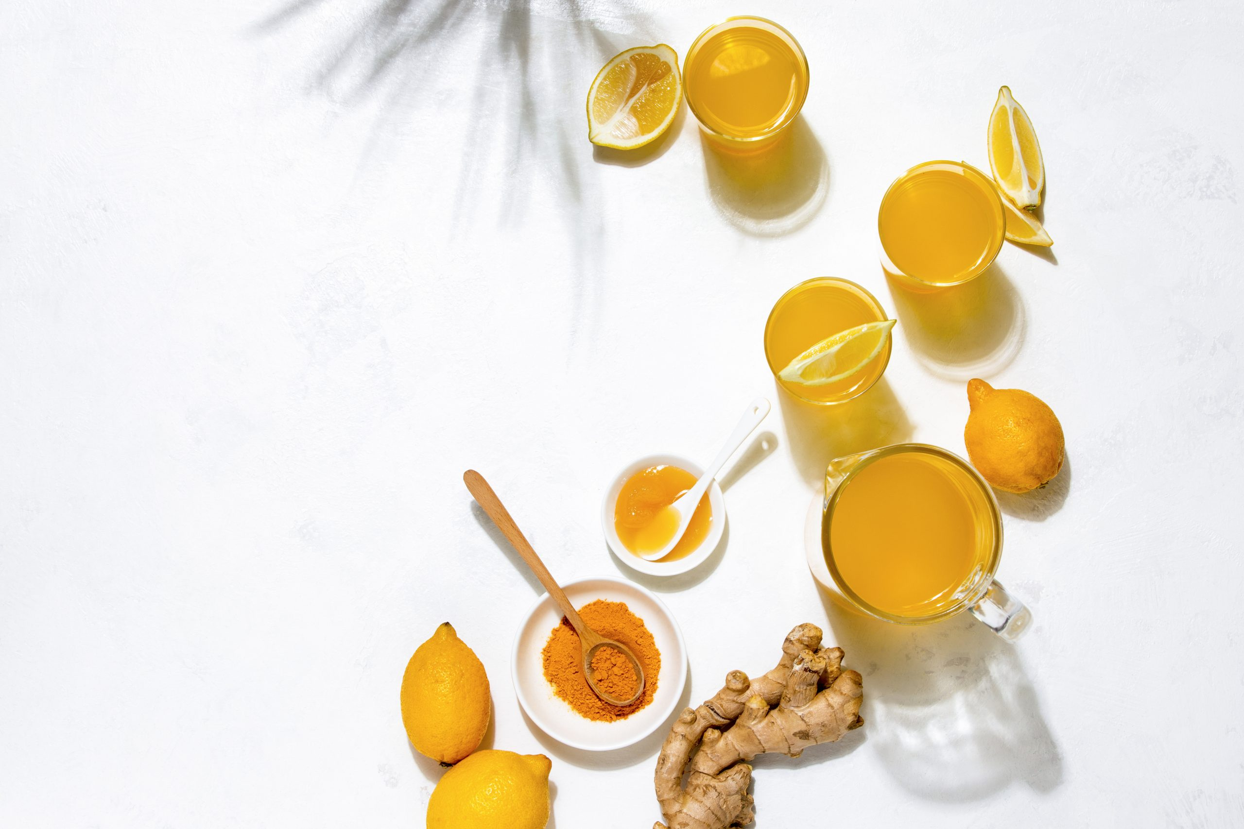 Spicy sipper ginger tumeric immunity boosting juice