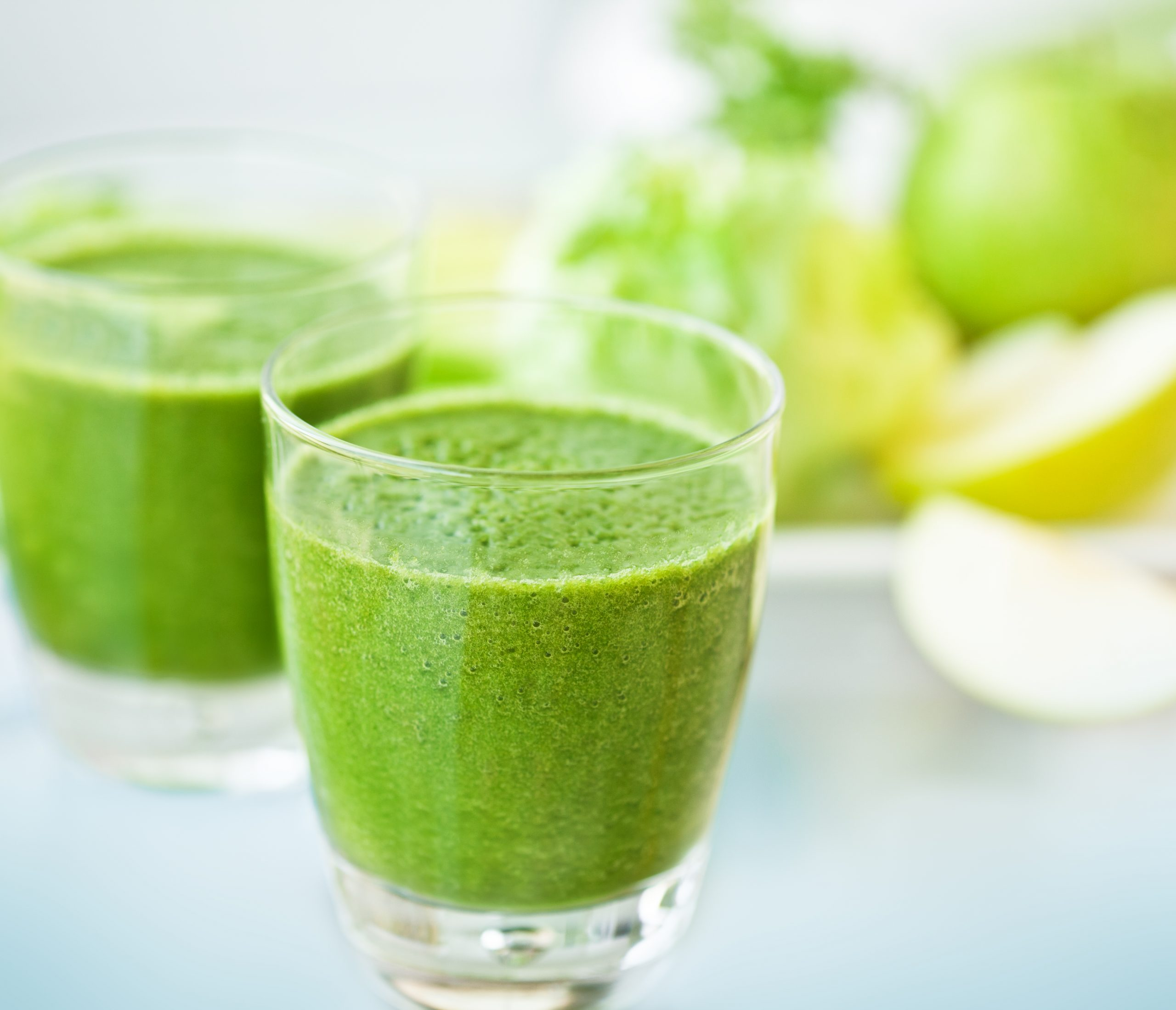 Might green immunity boosting juice